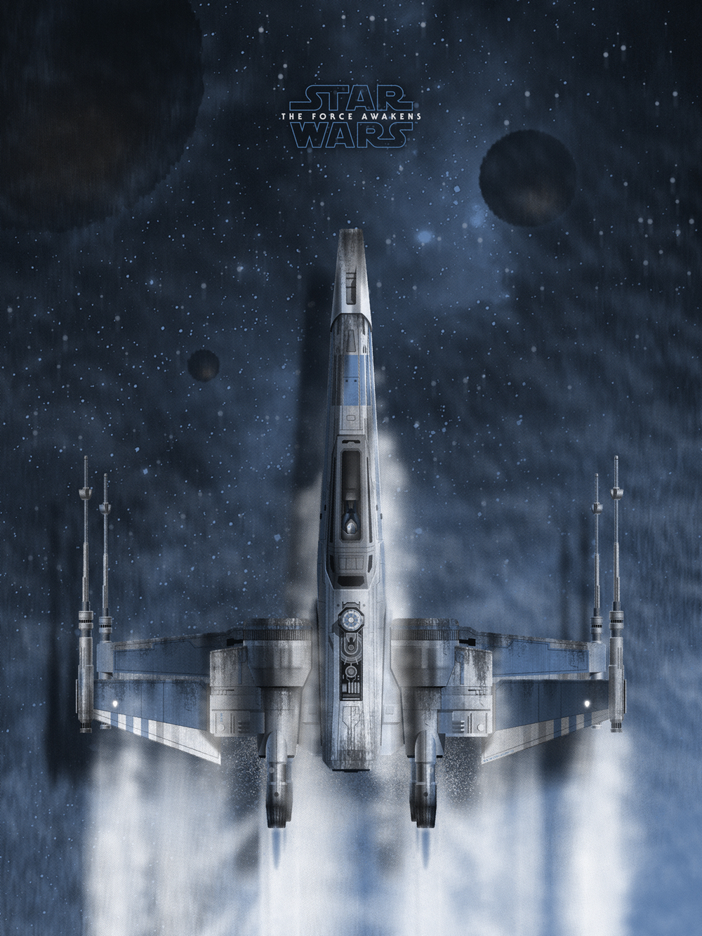 Star Wars 'Resistance X-Wing' by DKNG