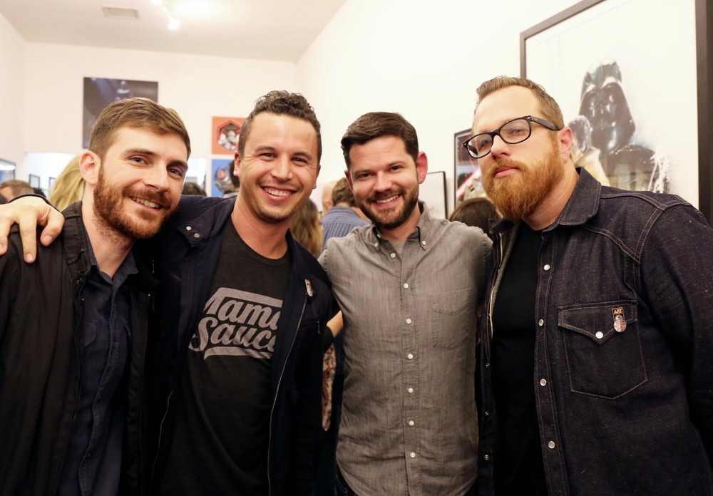 Danny Askar, Dan Kuhlken, Nathan Goldman, and Mark Brickey