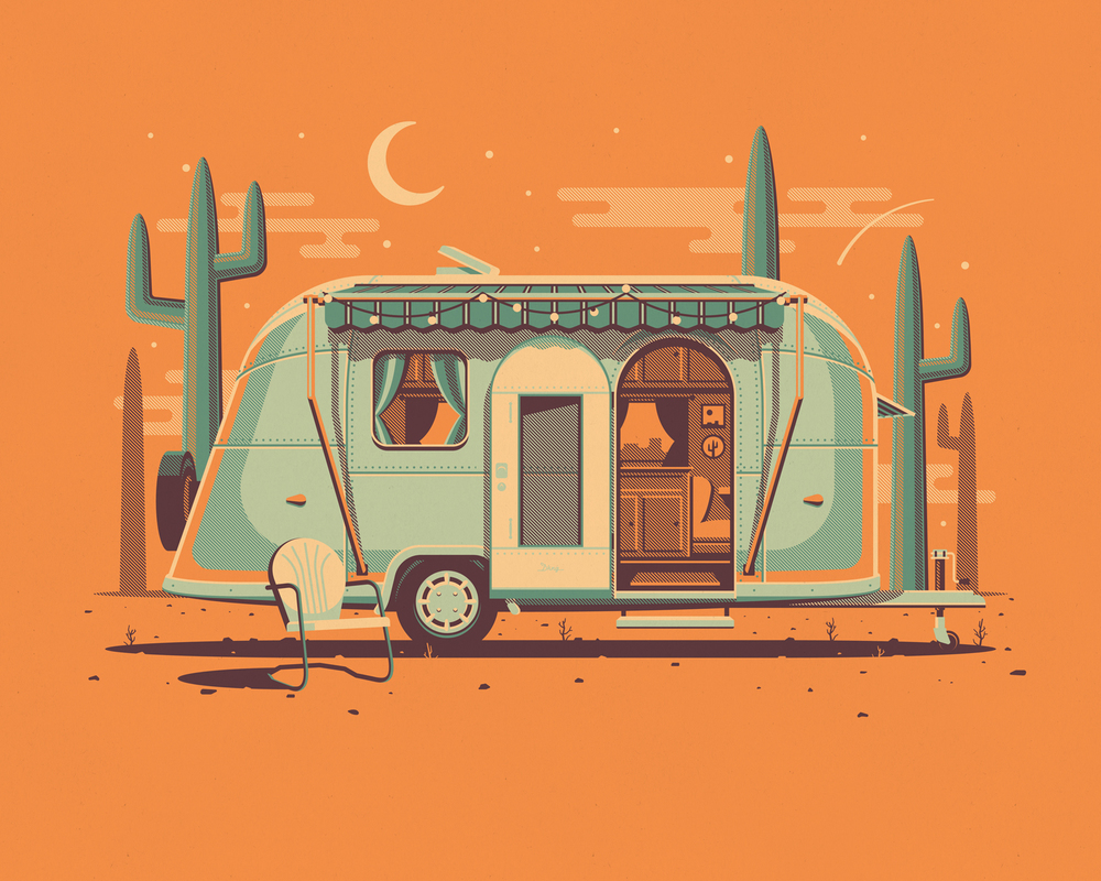 Mojave art print by DKNG