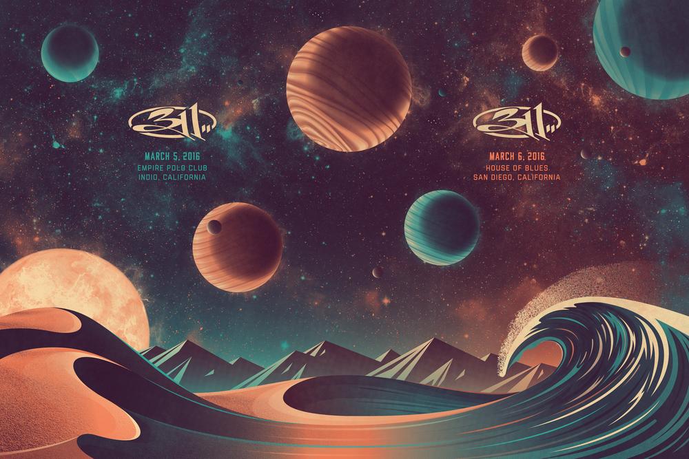 311 Poster (Uncut Sheet)
