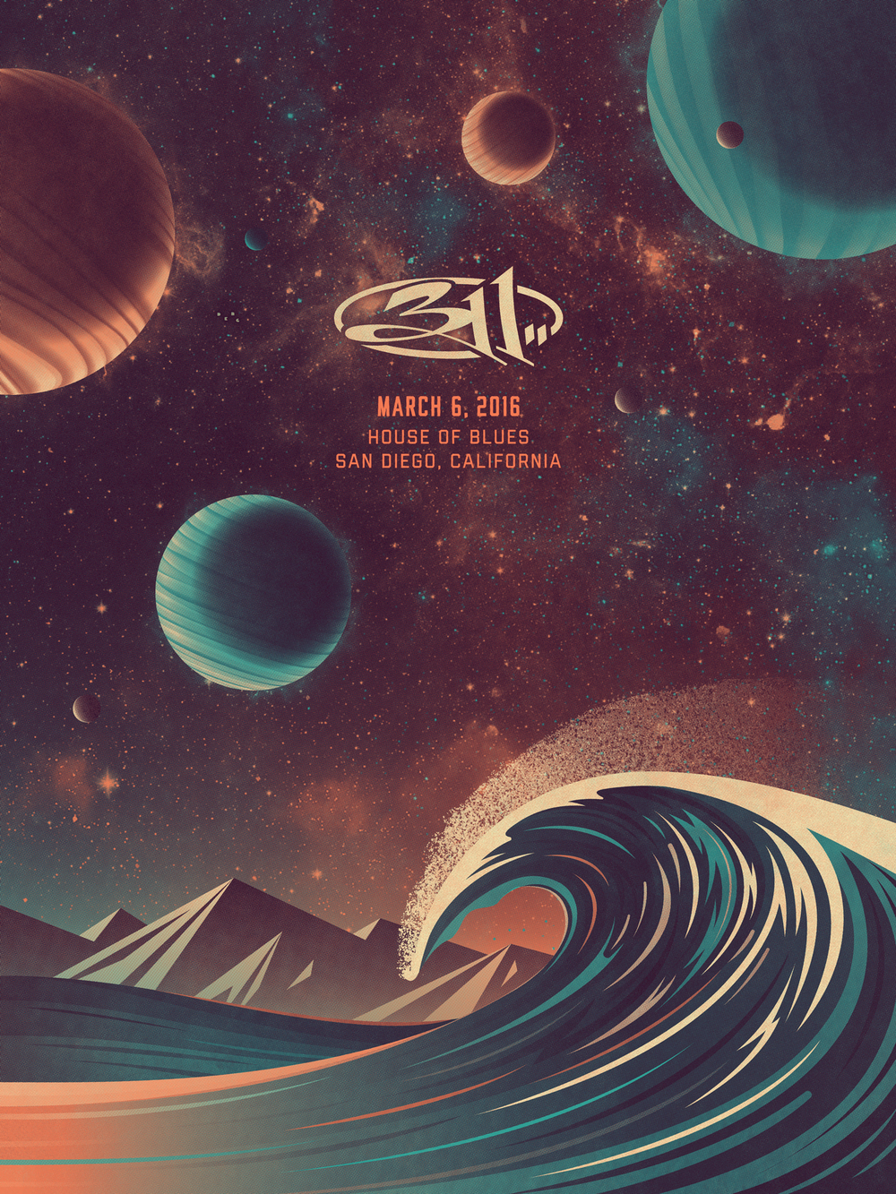 311 Poster (March 6, 2016)