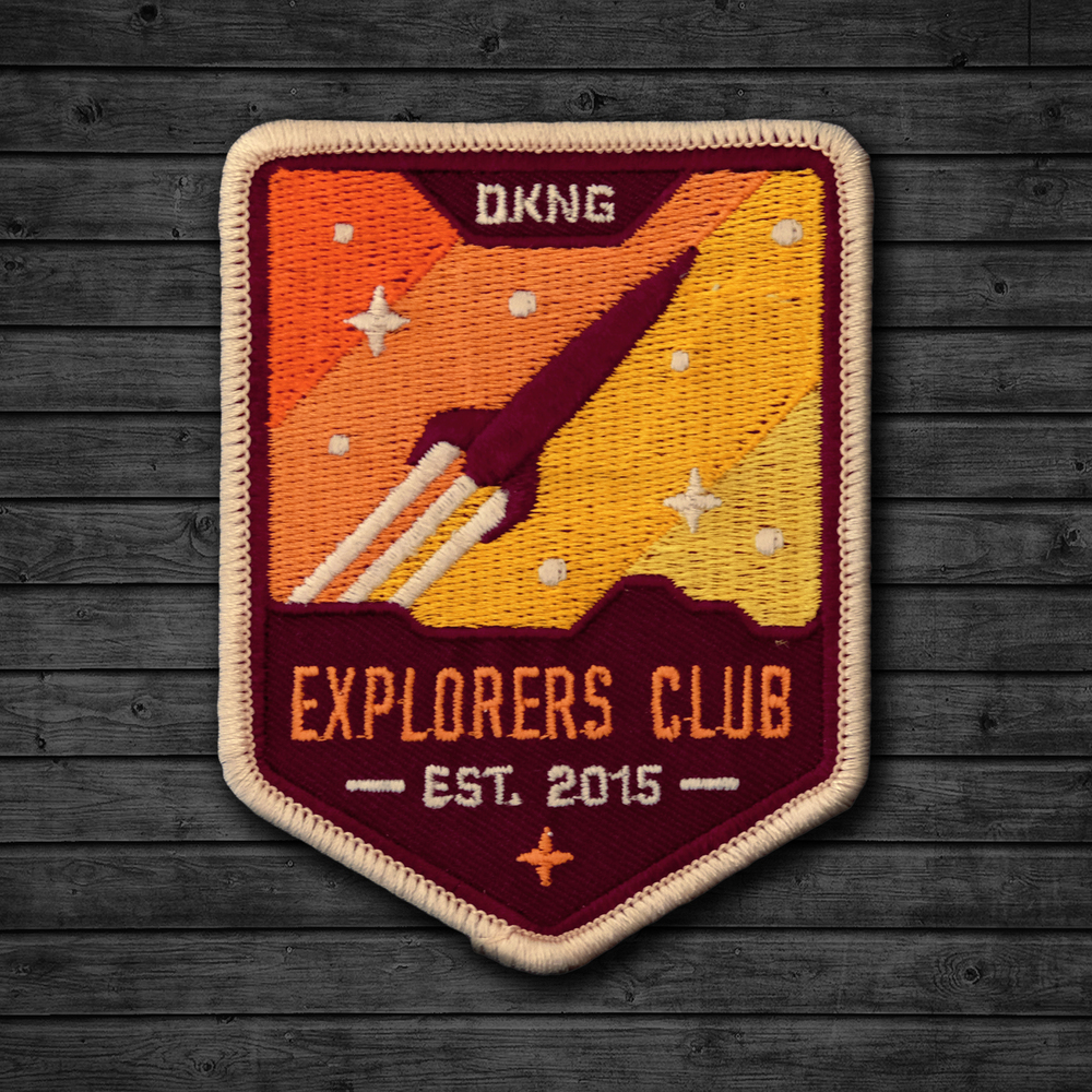 Explorers Club Patch by DKNG