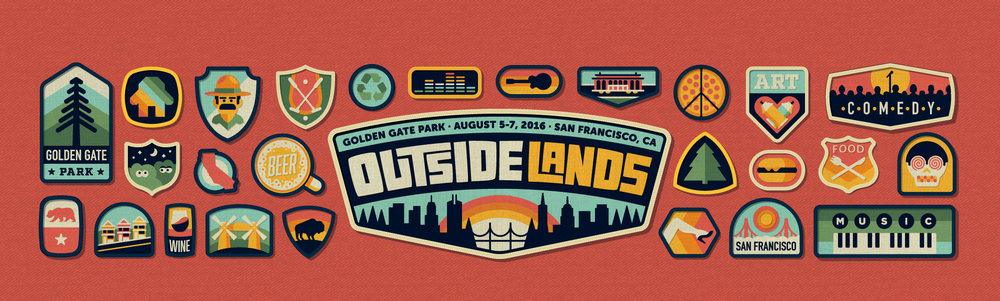 OUTSIDE LANDS   Creating the 2016 Festival Branding   LEARN MORE