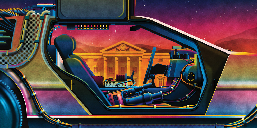BACK TO THE FUTURE   Trilogy Vinyl Box Set Packaging   GREAT SCOTT!