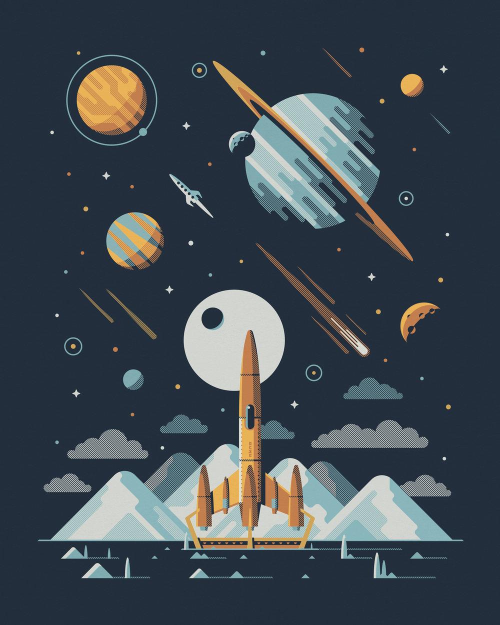 Europa Art Print by DKNG