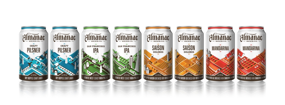 ALMANAC BEER CO.   All New Can Series   SEE FULL BLOG POST
