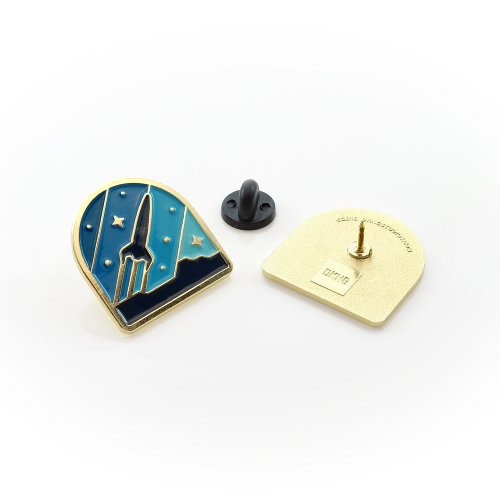 Explorers Club Enamel Pins by DKNG