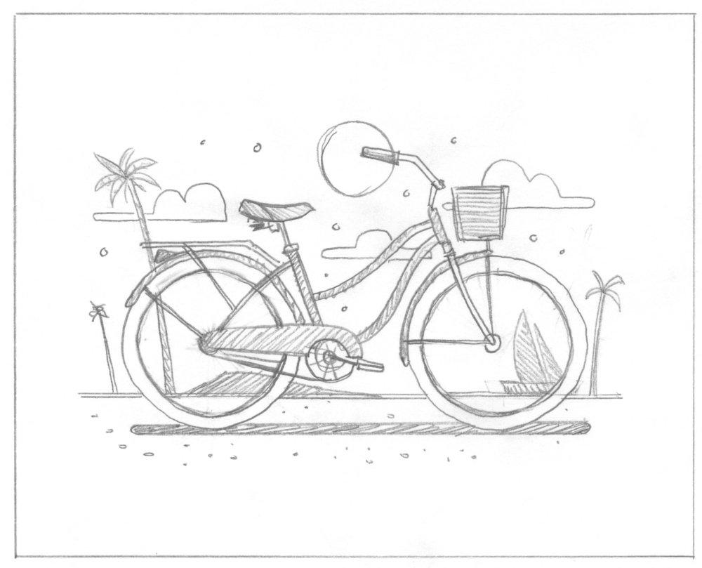 Malibu art print by DKNG
