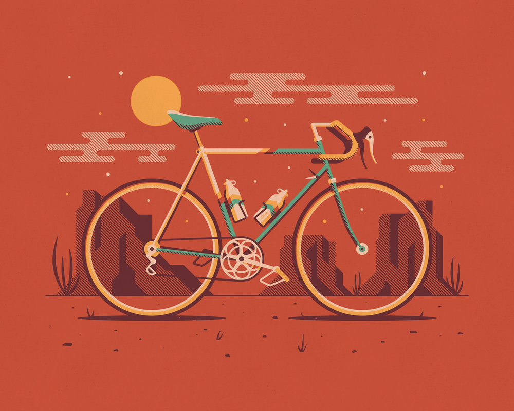 EXPLORERS CLUB: CYCLIST SERIES   A Brand New Art Print Series. Available Now.   EXPLORE