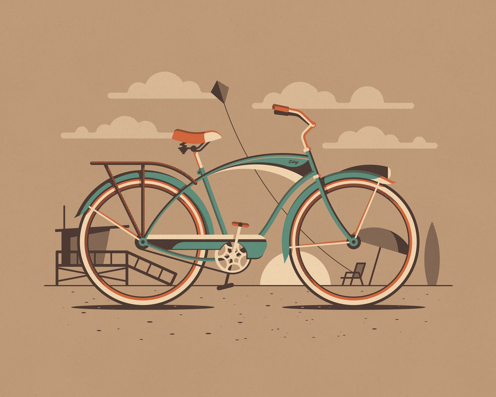 Explorers Club: Cyclist Series by DKNG