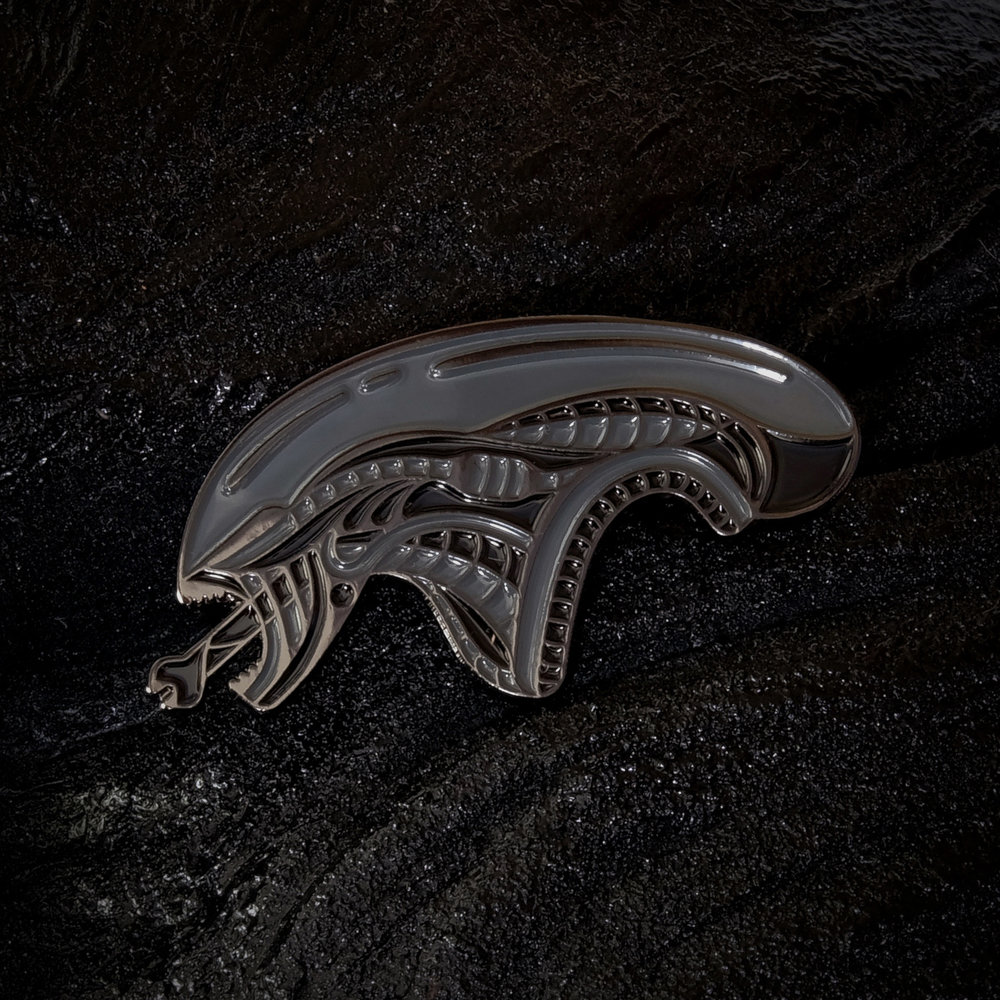 Alien Enamel Pins by DKNG