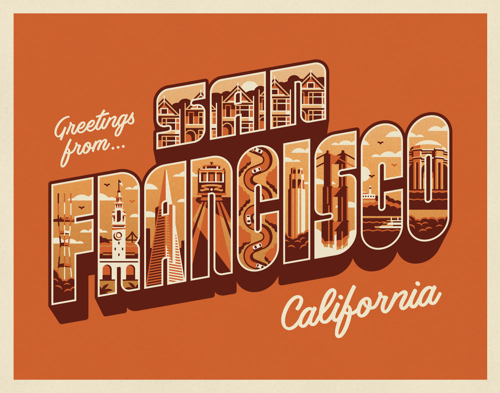 Greetings from San Francisco by DKNG