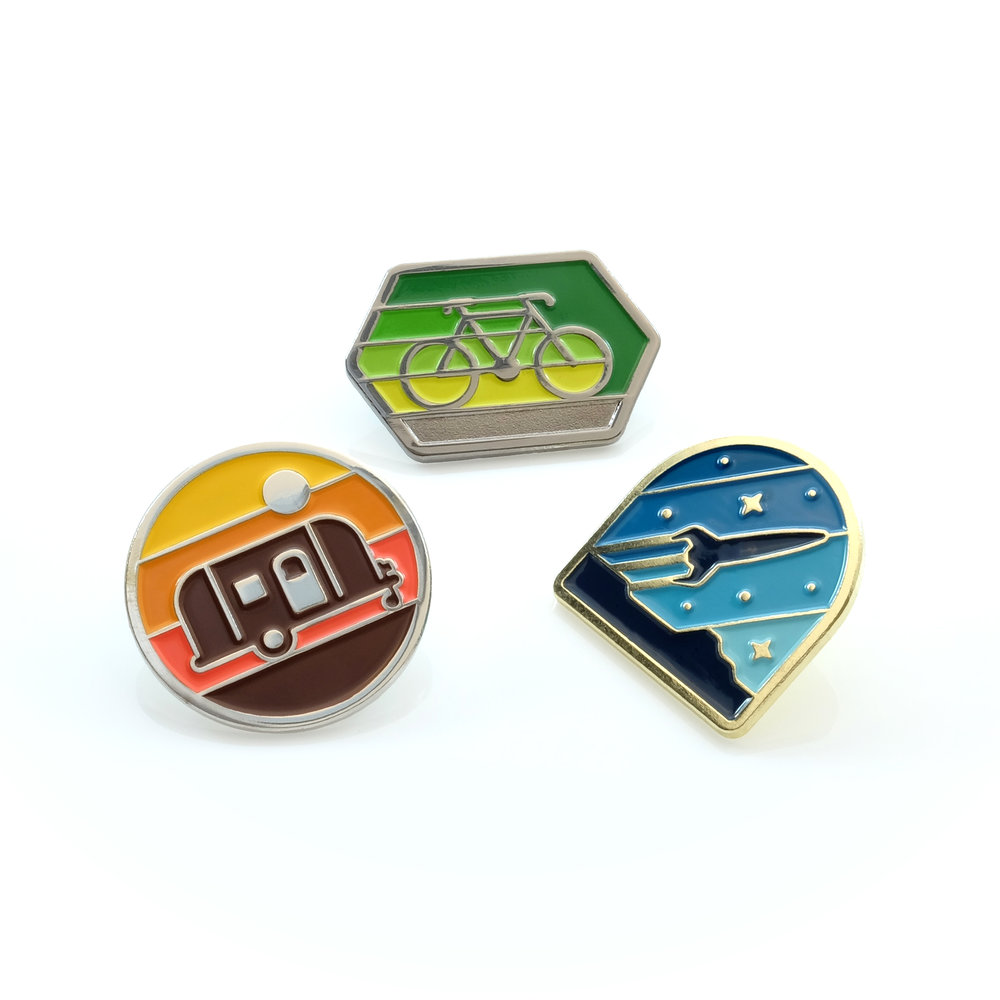 Enamel Pins by DKNG