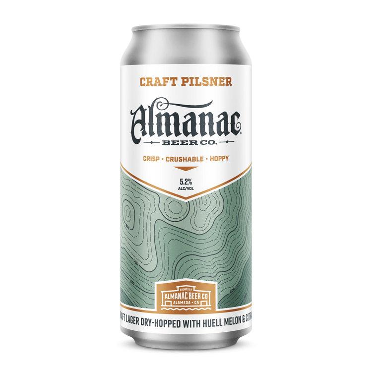 Almanac Beer Co Craft Pilsner Dkng