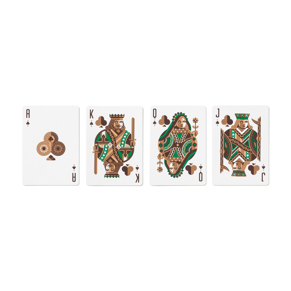 DKNG 'Green Wheel' Playing Cards