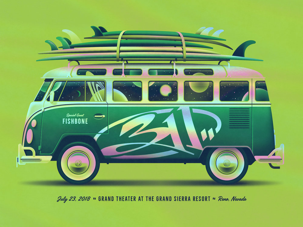 311 Poster by DKNG