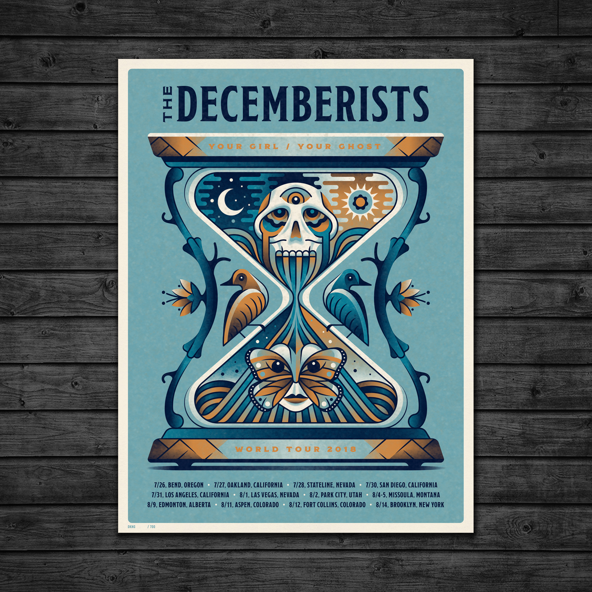 The Decemberists 2018 Tour (VIP Leg 2) — DKNG