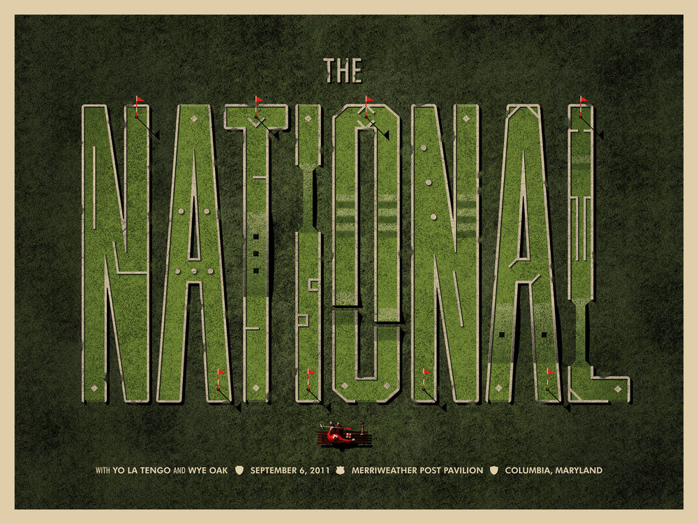 The National - Columbia, MD Poster