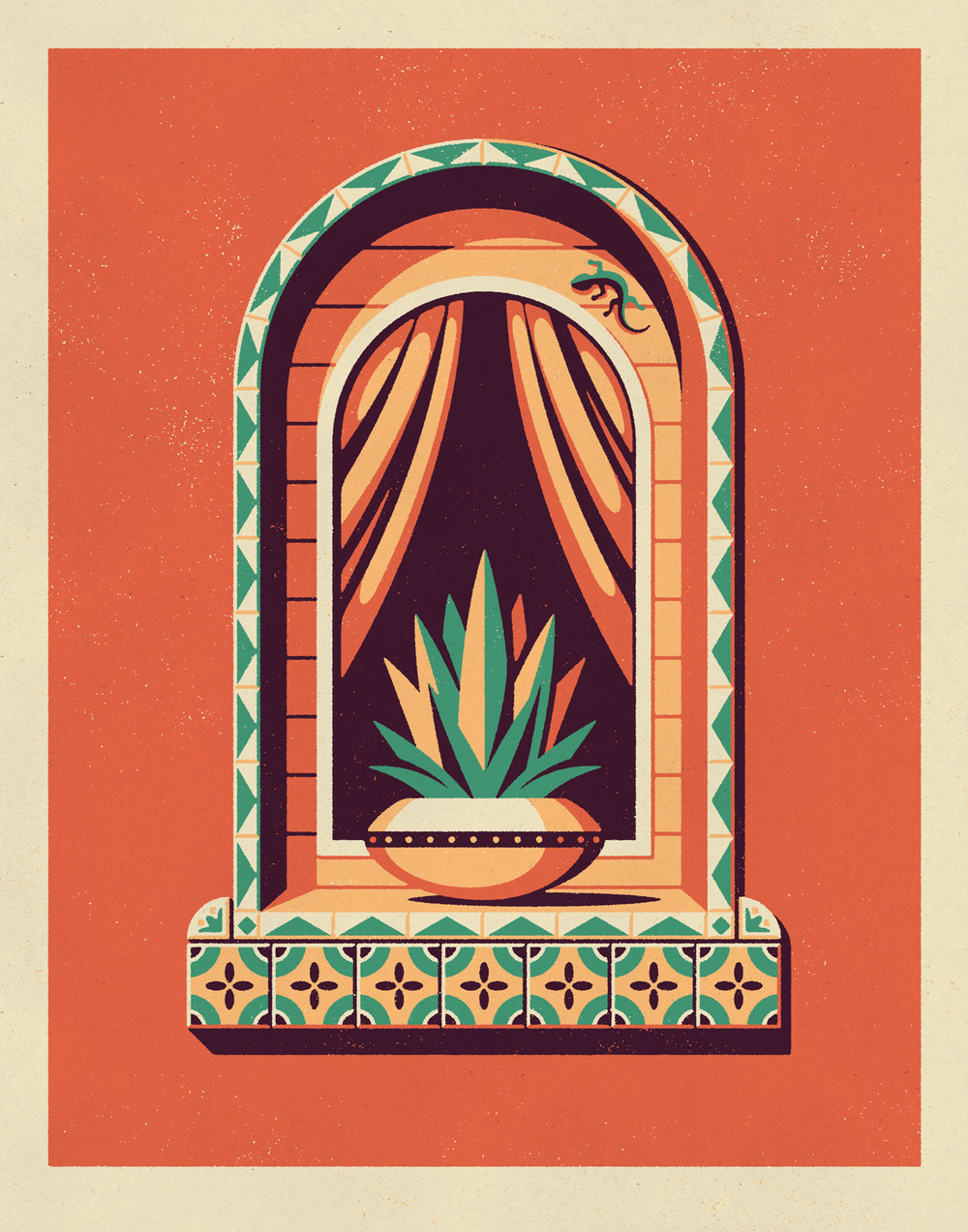 Jalisco Art Print by DKNG