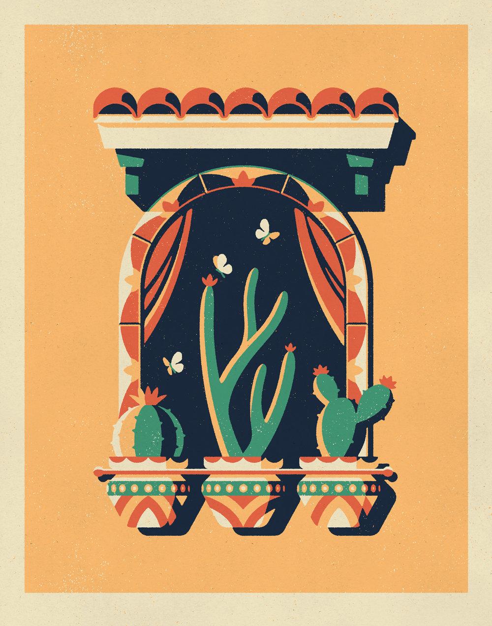 Veracruz Art Print by DKNG