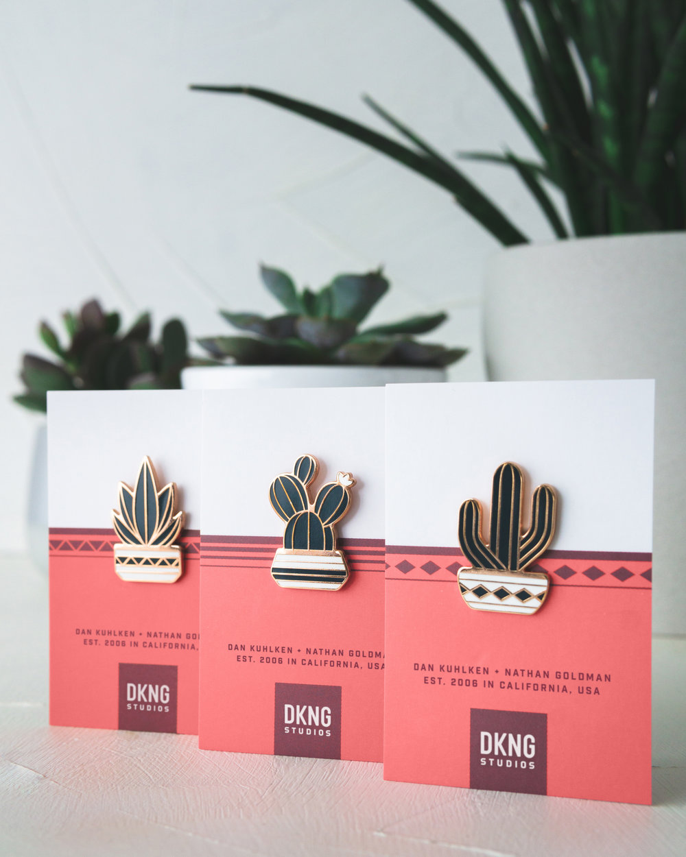 Succulent Pin Pack by DKNG