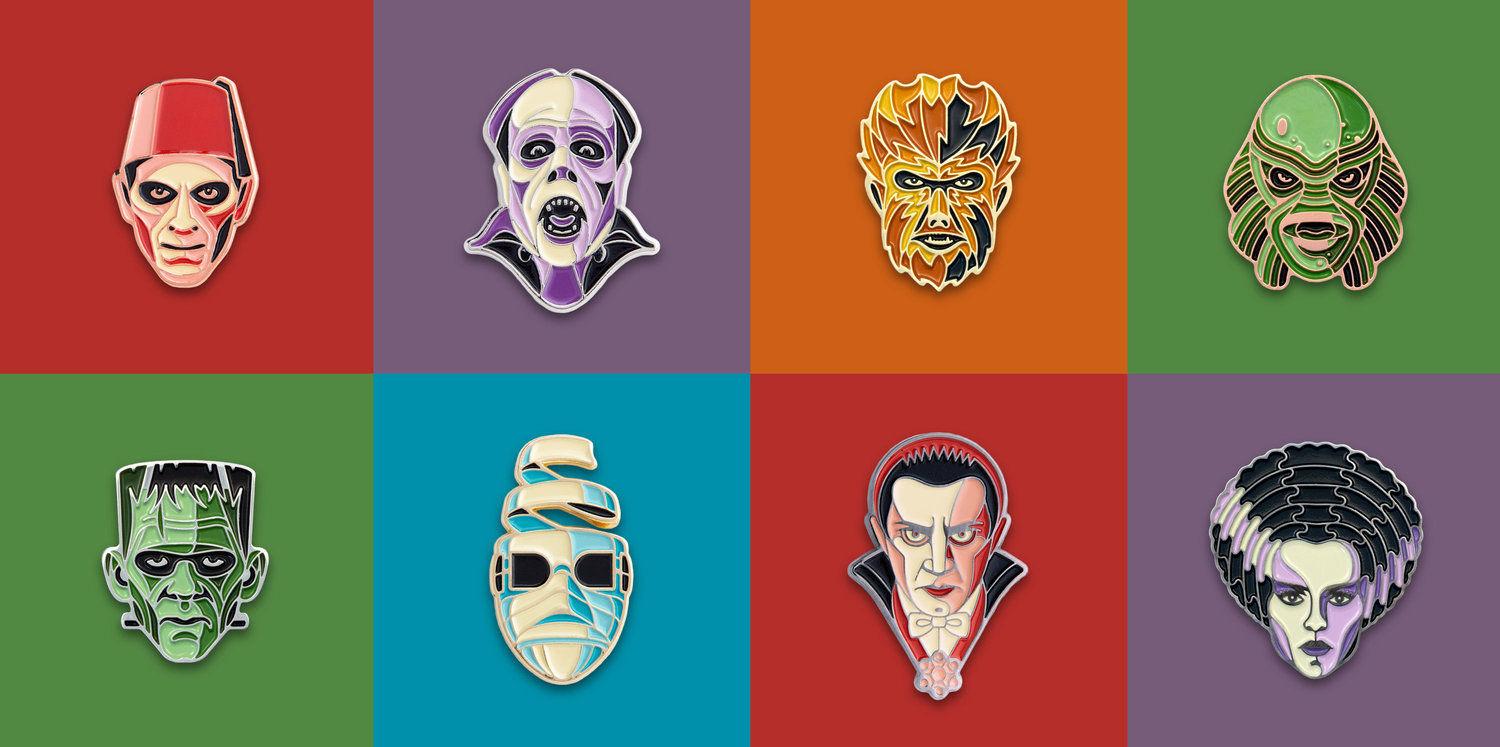 Universal Monsters Enamel Pin Series Dkng