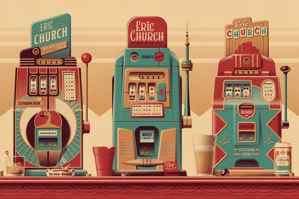 Eric Church Posters by DKNG