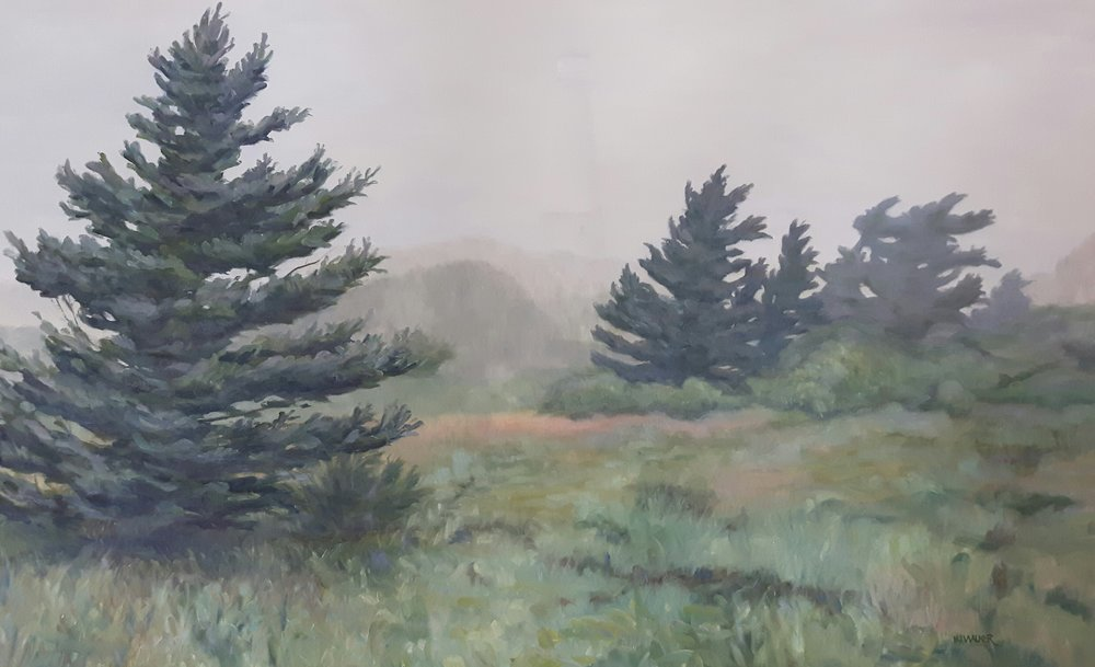 """Veils of the Cape  32 x 48"""""""