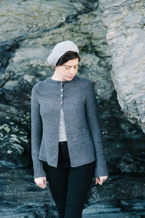 Charlotte light cardigan , by Carrie Bostick Hoge / Madder