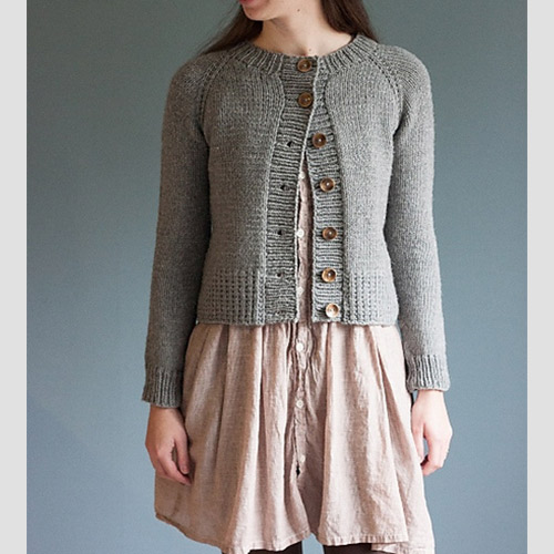 Ramona Cardigan  by Elizabeth Smith / The Brown Stitch