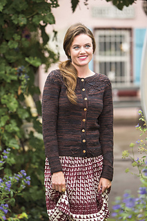 Cocoa Cardigan, from Winter 15  Interweave Knits Magazine