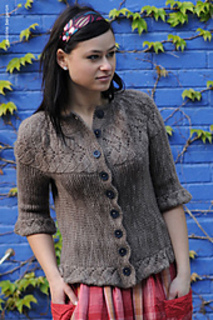 Vine Yoke Cardigan  by Ysolda Teague, from Twist Collective Fall '09 issue
