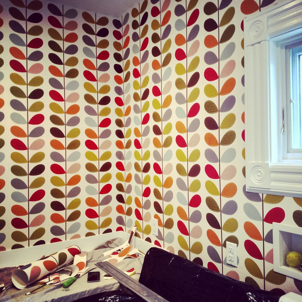 Orla Keily Stem wallpaper in Multi