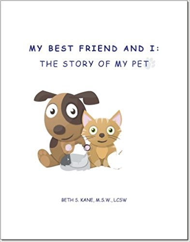 My Best Friend and I: The Story of My Pet is a pet memorial journal designed specifically for children. Unfortunately, children are not immune to loss, especially of their pets who are oftentimes their best friend. This journal allows each child to record special memories, thoughts and photos/pictures/drawings to help them process their grief while allowing them a tangible place to share the life and love they shared with their best friend. -