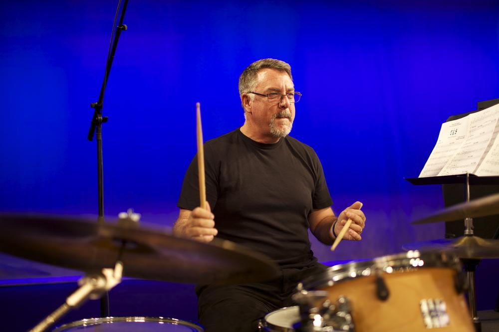 Roger Brooks, drums