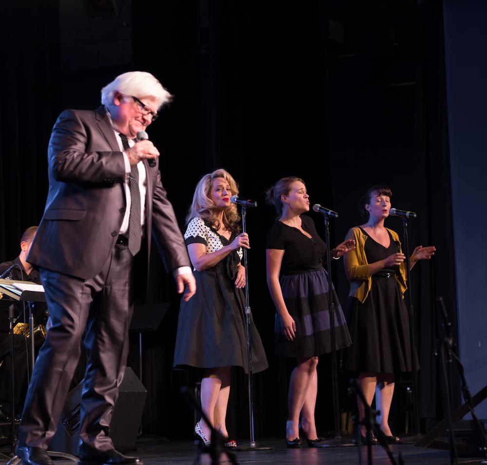 Steve Lively, Tina Baker, Elissa Butler, and Melanie Klar