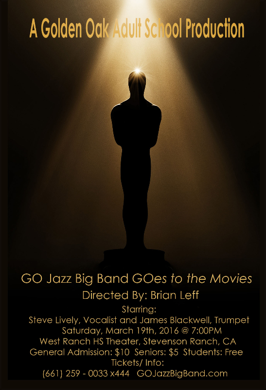 GO Jazz Big Band GOes to the Movies