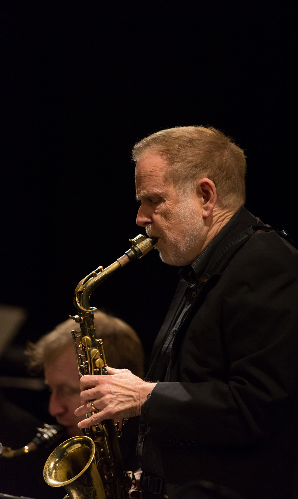 Kim RIchmond, alto sax