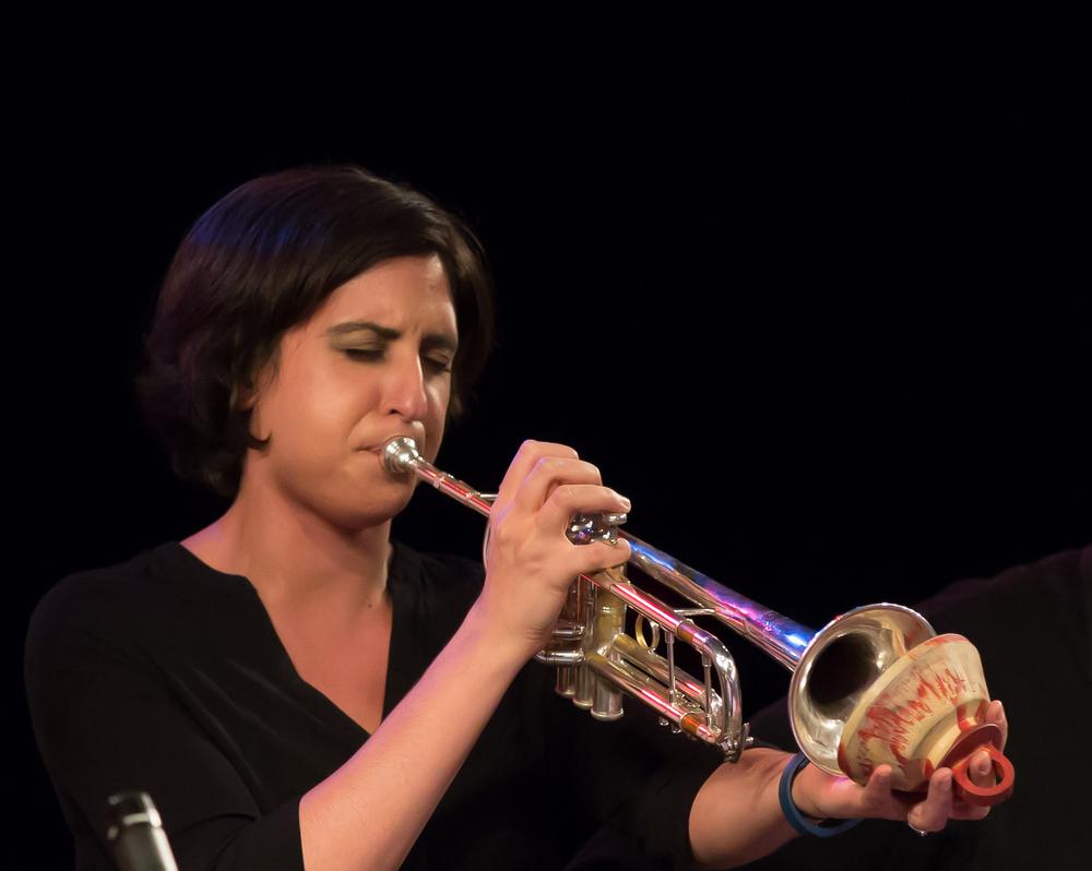 Marissa Terranova, trumpet