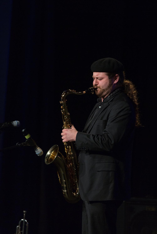 Isaac Lopez, tenor sax