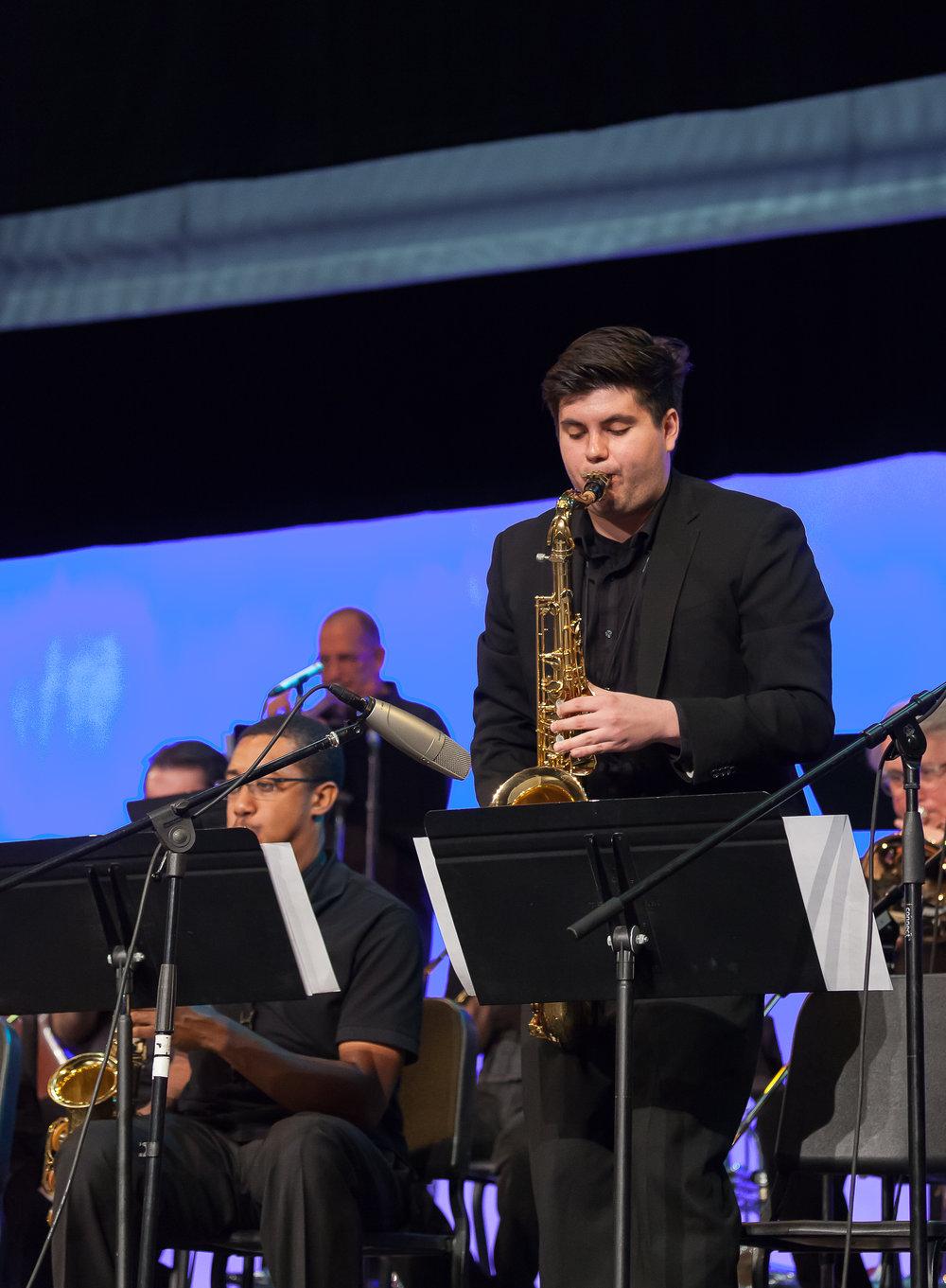 Kyle Jiminez, tenor sax