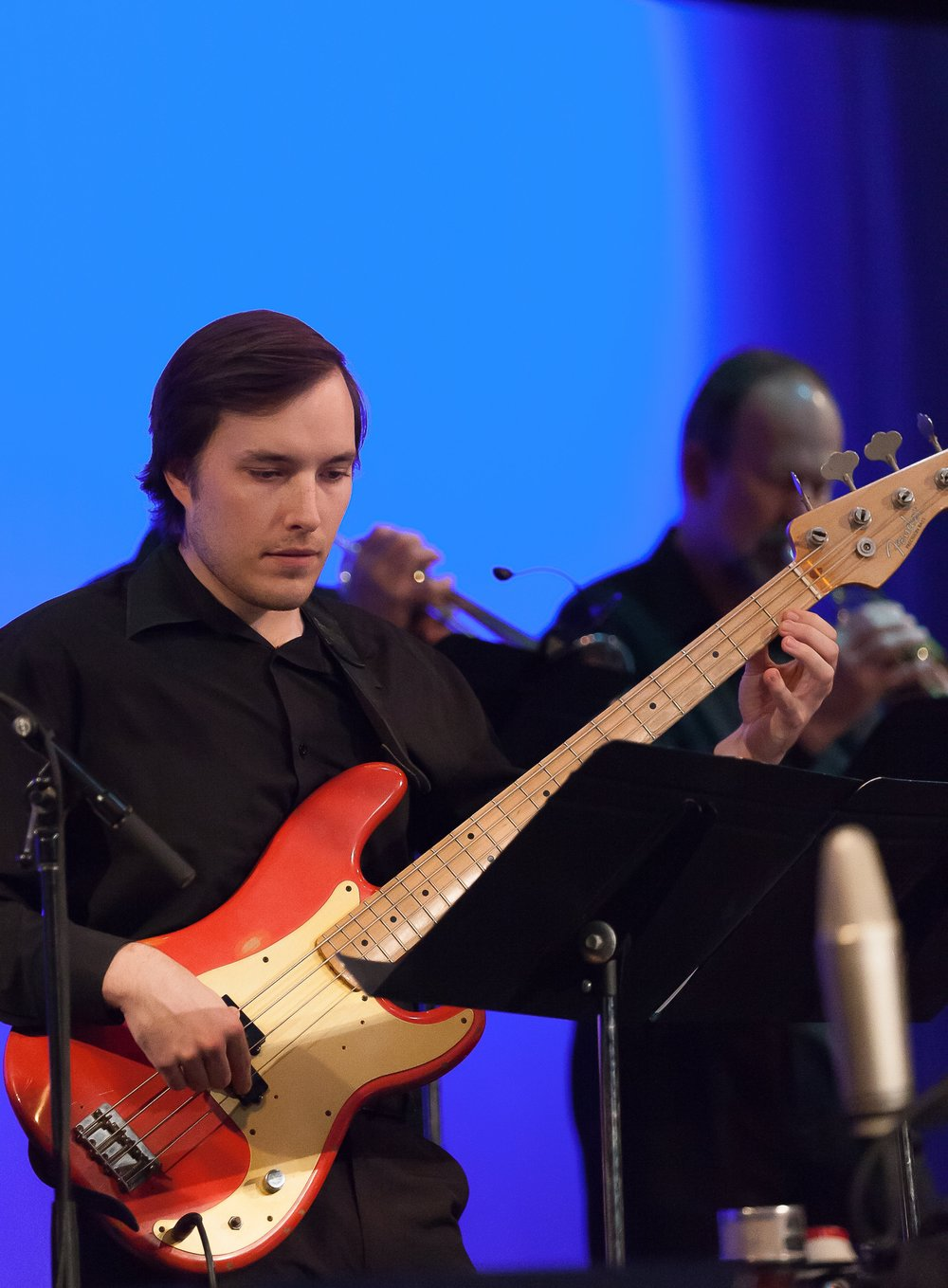 Brandon Fansher, bass