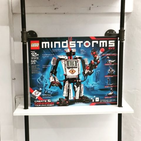 The #mindstorms have arrived at #Sprouts Maker Space!! Only 4 more days!