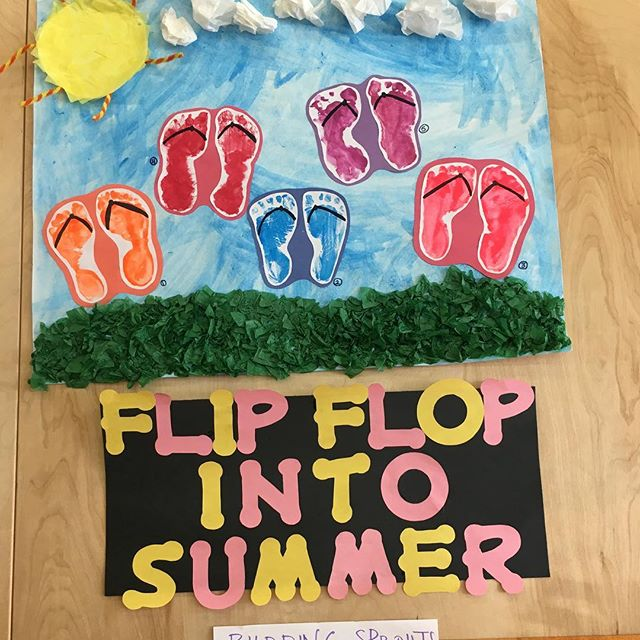Our summer preschool program is enjoying every sunny summer moment!