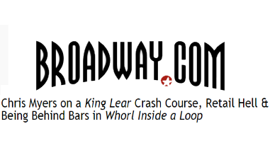 Chris Myers on a King Lear Crash Course, Retail Hell & Being Behind Bars in Whorl Inside a Loop