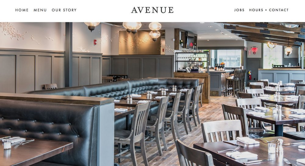 Avenue Website Design