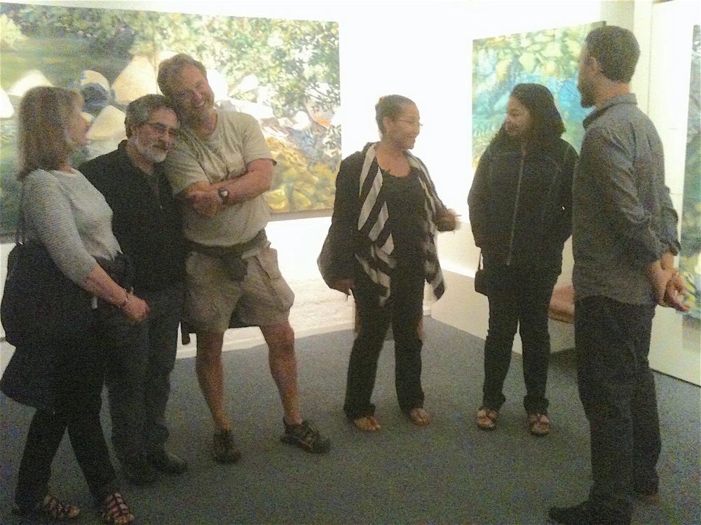 Gallery, Denise Wey landscape paintings, yuba river, nature art, studio shot.jpg
