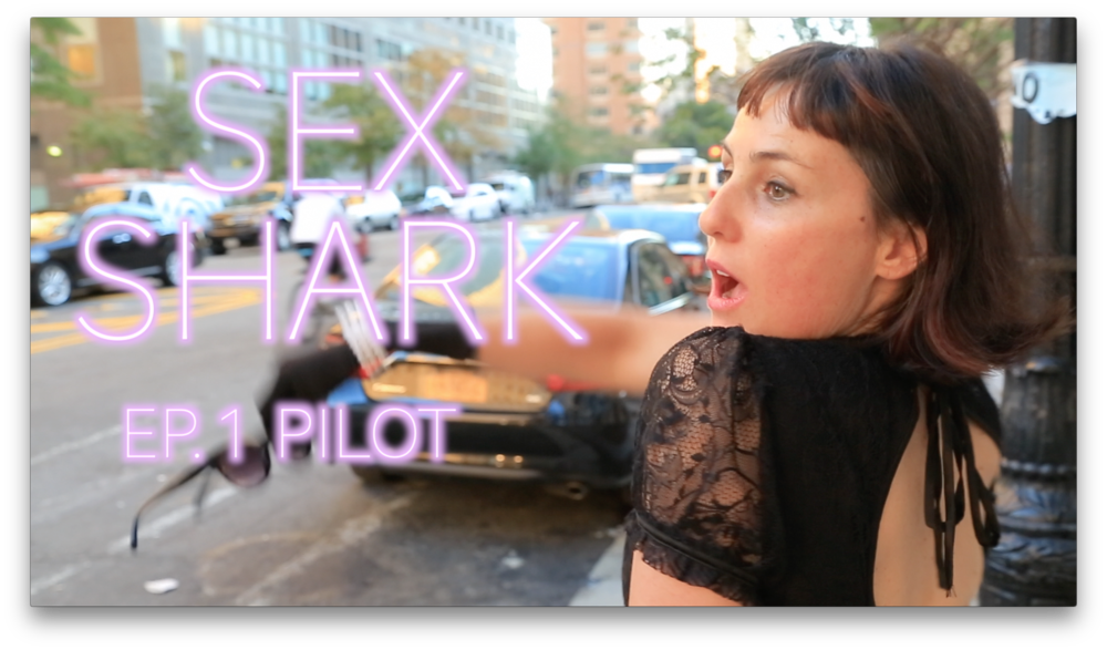 Sex Shark: Pilot - TV short, dramedy, 2016, writer/director, youtube.A fiction/non-fiction hybrid look at the behind the scenes drama of Honeysuckle Magazine.