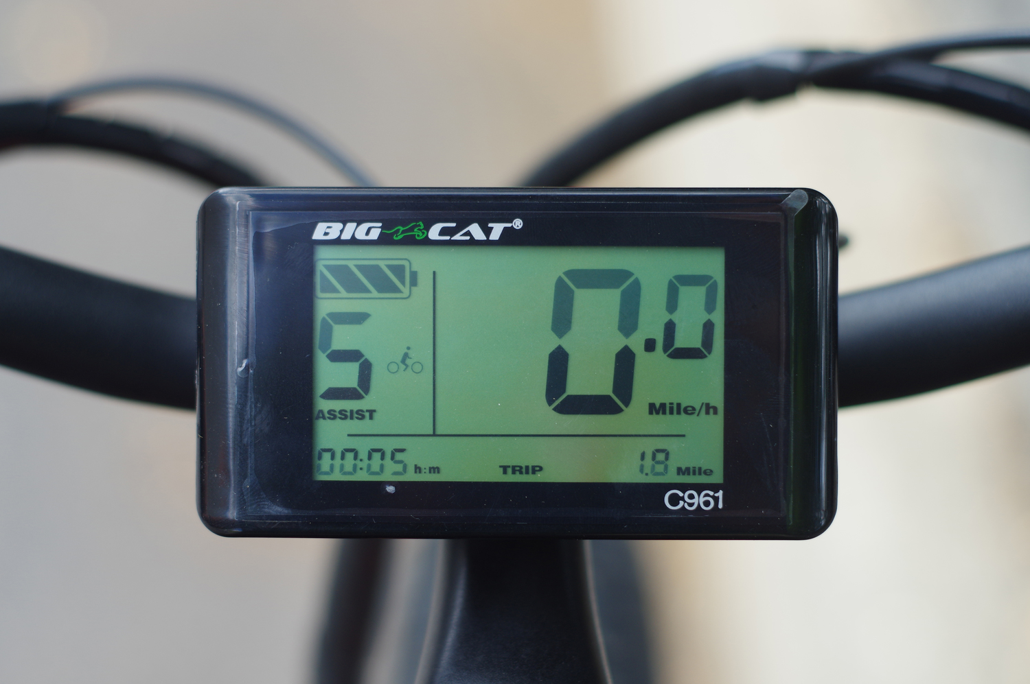 bafang C961 big cat fat cat x
