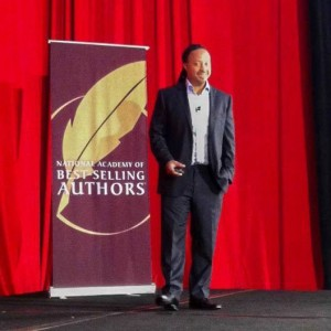 Gerald speaking to the National Association of Best-Selling Authors in Hollywood, California.